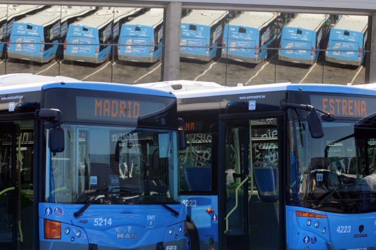 flota EMT Madrid