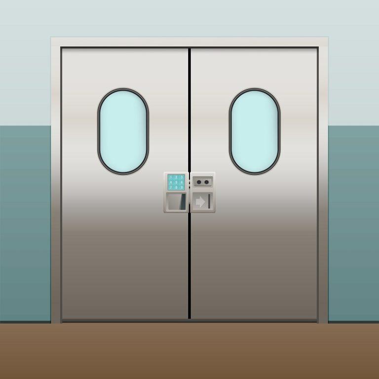 control acceso hospital